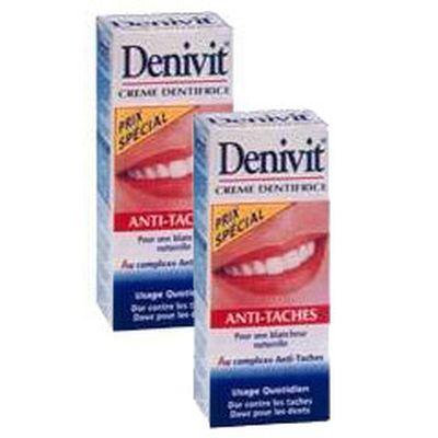 Denivit Dentifrice en tube blancheur