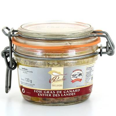 Foie de gras de canard entier des Landes IGP