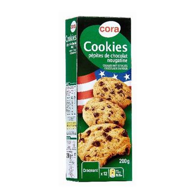 Cora Cookies nougatine
