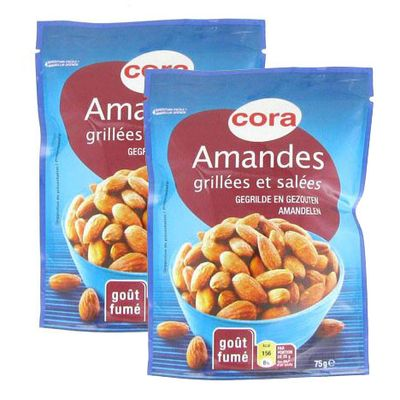 Cora Amandes grillées à secs