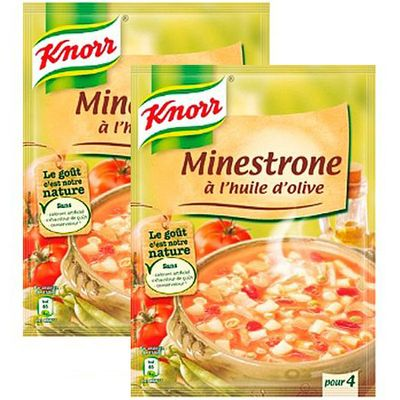 Knorr Soupe minestrone