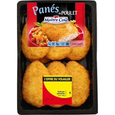 Panes de dinde MAITRE COQ, 1kg