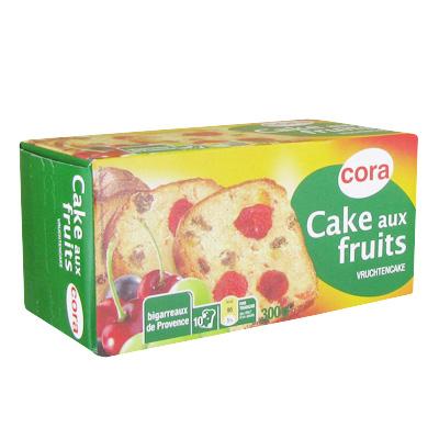Cora Cake aux fruits