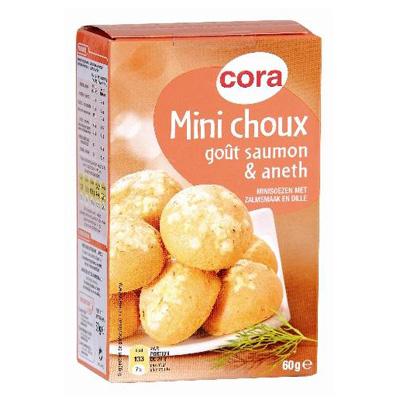 Cora Mini choux saumon et aneth