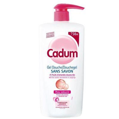 Cadum cr me de douche sans savon 750ml - Gel douche sans sodium laureth sulfate ...