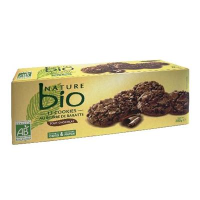 Nature Bio Cookies au chocolat, bio