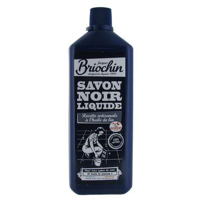 briochin savon noir liquide l 39 huile de lin 1l. Black Bedroom Furniture Sets. Home Design Ideas