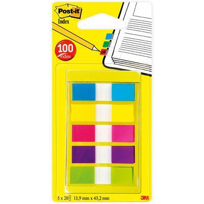 Post-it Set 100 mini index 5 couleurs