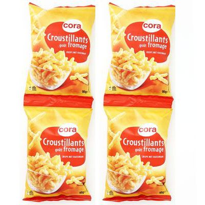 Cora Croustillants goût fromage