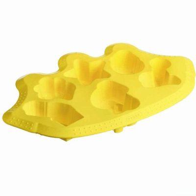 Moule multicavités Circus en silicone Jaune 35 x 23 cm Flexi Twist Kids