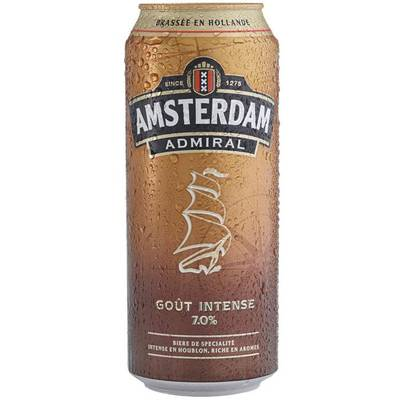 Bière blonde au goût intense 7°