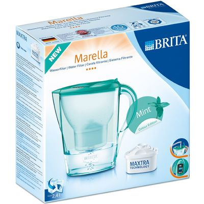 Carafe Marella menthe et une cartouche Maxtra