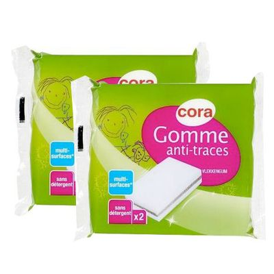 Cora Gomme anti-traces