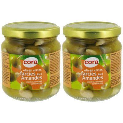 Cora Olives vertes farcies aux amandes