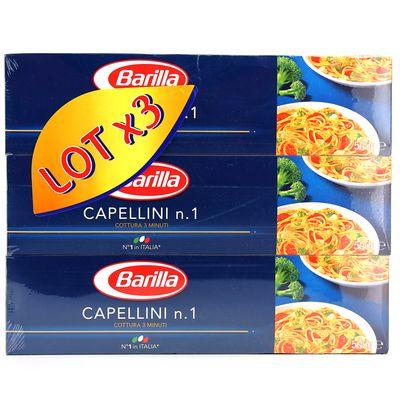 BARILLA LOT CAPELLINI 500G X 3
