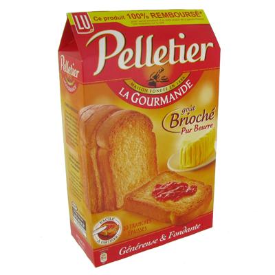Biscotte gout brioche pur beurre - Pelletier