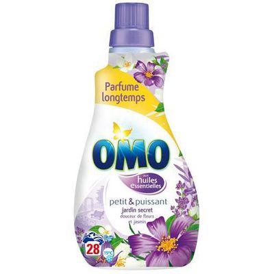 Omo, Tablette lessive pour 28 lavages douceur fleurs et jasmin , le pack de 56 tablettes