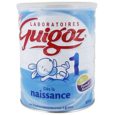 Lait Guigoz naissance 1er age 800g