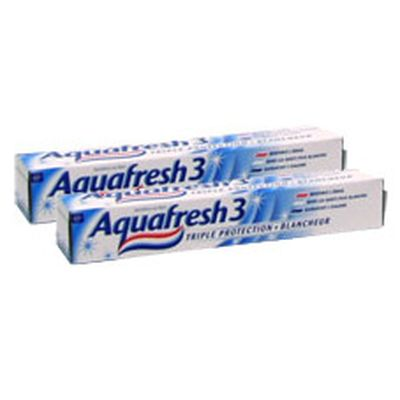 Aquafresh Dentifrice en tube triple protection & blancheur