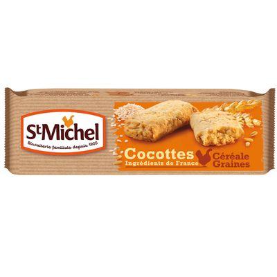 Biscuits st Michel Cocottes Cereales et graines 140g