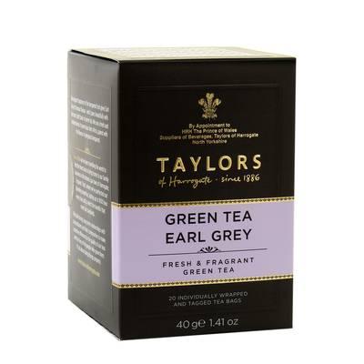 Taylors of Harrogate Thé vert earl grey
