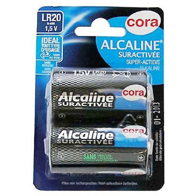 Cora Piles alcalines LR20