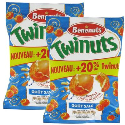 Benenuts Twinuts goût salé