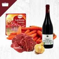 Pack Bourguignon 4 personnes (photo non contractuelle)