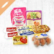 Pack Recette galette des rois (photo non contractuelle)