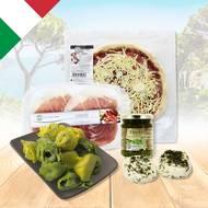 Pack Italie produits frais (photo non contractuelle)