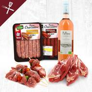 Pack viande Barbecue (photo non contractuelle)
