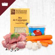 Pack Blanquette de veau 4 personnes (photo non contractuelle)