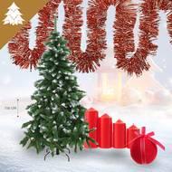 Pack décoration de Noël - Thème Au chalet (photo non contractuelle)