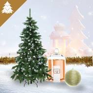 Pack Décoration de Noël - Thème Etincelles de couleurs (photo non contractuelle)