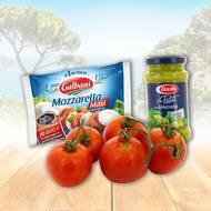 Salade de Tomate Mozzarella (photo non contractuelle)