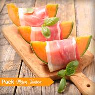 Melon Jambon cru (photo non contractuelle)
