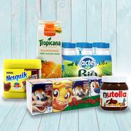 Pack  Petit Déjeuner enfants (photo non contractuelle)