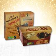 Pack Chocolats Bio (photo non contractuelle)