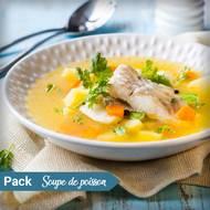 Soupe de poisson (photo non contractuelle)