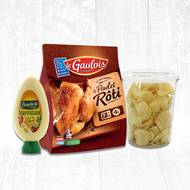 Poulet chips (photo non contractuelle)