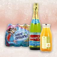 Pack boissons de fêtes pour les plus petits (photo non contractuelle)