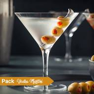 Pack Cocktail Vodka Martini (photo non contractuelle)