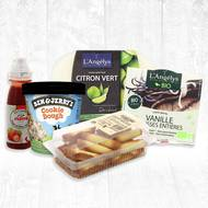 Pack glaces pour les gourmands (photo non contractuelle)