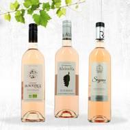 Pack vin rosés (photo non contractuelle)