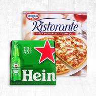 Pack Euro Pizza/Bière (photo non contractuelle)