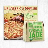 Pack Euro pizza / bière BIO (photo non contractuelle)