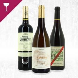 Pack vins rouges spécial hiver