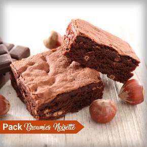 Pack Brownies Noisette