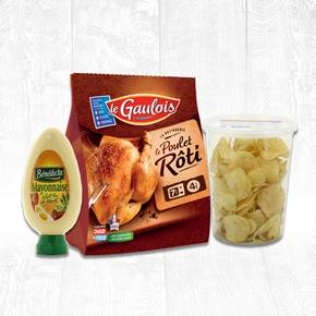 Poulet chips