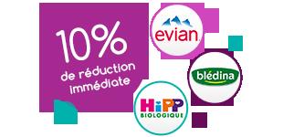 10% de réduction immédiate